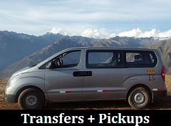 Click here for Transfers and Pickups